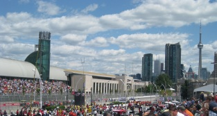 IndyCar Toronto big crowds