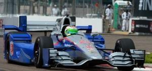 Simona de Silvestro in action for Andretti Autosports.