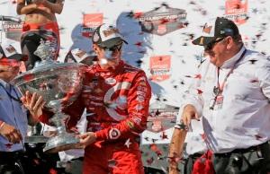 Scott Dixon IndyCar Championship win 2015