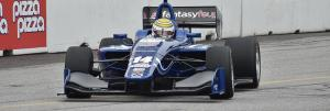 Nelson Piquet making his IndyLights debut in Toronto