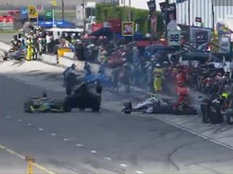 Kimball Rossi crash Pocono