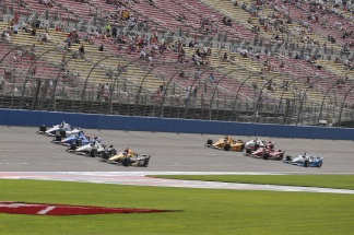 Indycar oval crowds attendance
