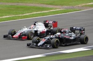 Alonso McLaren Honda Grosjean Haas