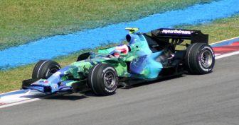 Honda F1 Earth Car Barrichello