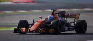 McLaren Honda MCL32 Honda Alonso Barcelona test