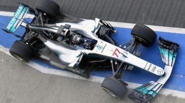Mercedes W08 Bottas F1