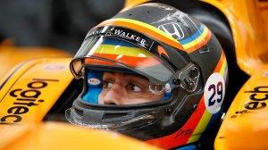 Fernando Alonso IndyCar Indy 500 helmet