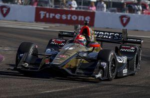 James Hinchcliffe IndyCar Detroit Honda