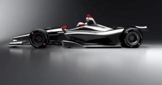 IndyCar 2018 car concept aero kit