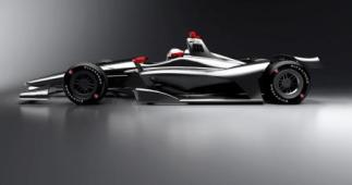 IndyCar 2018 car concept aero kit