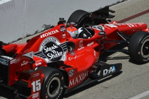 Graham Rahal IndyCar Honda Duel in Detroit