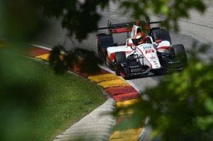 Esteban Gutierrez Dale Coyne IndyCar Road America