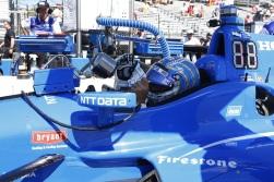 Tony Kanaan IndyCar Ganassi Racing Honda