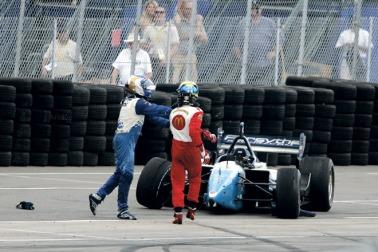 Paul Tracy Sebastien Bourdais ChampCar IndyCar