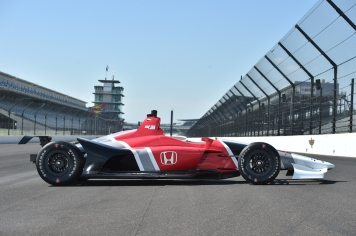 IndyCar 2018 Honda side view