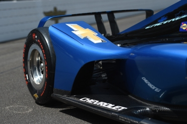 IndyCar 2018 Chevrolet rear wing