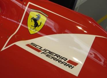 Ferrari brand F1 logo