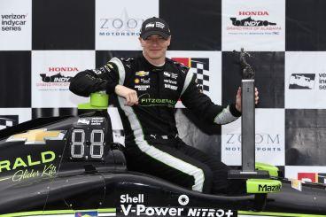 Josef Newgarden IndyCar Barber IndyCar Chevrolet Penske