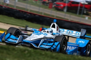 Josef Newgarden Penske Chevrolet IndyCar Mid-Ohio Honda Indy 200