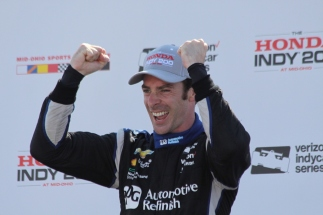 Simon Pagenaud IndyCar Penske Chevrolet Mid-Ohio Honda Indy