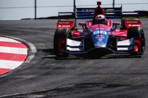 Alexander Rossi Andretti Autosport IndyCar Honda Mid Ohio