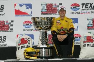 Sam Hornish Jnr Panther Racing IndyCar Indy Racing League Champion 2002