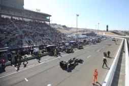 Sonoma Raceway IndyCar 2017 grandstands