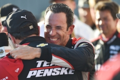 Helio Castroneves Team Penske IndyCar Iowa Corn 300 win