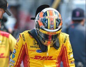 Ryan Hunter-Reay IndyCar testing Andretti Autosport
