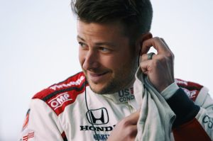 Marco Andretti IndyCar testing
