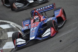 Rossi Andretti Barber wet Honda Grand Prix Alabama.