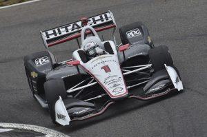 Josef Newgarden Barber Motorsports Honda Indy Grand Prix