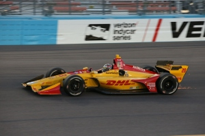 Hunter-Reay Phoenix Jones