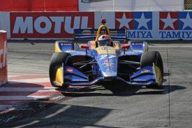 Alexander Rossi Long Beach IndyCar Honda NAPA