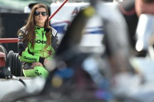 Danica Patrick Indy 500 practice IndyCar Go Daddy