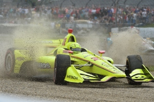 Simon Pagenaud 2018 Indy Grand Prix