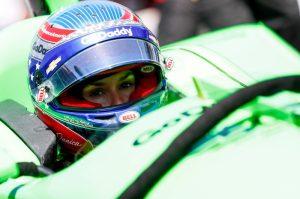 Danica Patrick cockpit Indianapolis 500 Chevrolet IndyCar