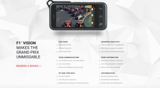 F1 Vision handheld