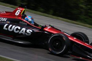 Robert Wickens SPM Honda Mid Ohio testing IndyCar