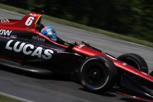 Robert Wickens Mid Ohio test IndyCar Honda 2018
