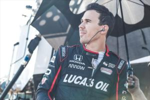 Robert Wickens Mid Ohio testing