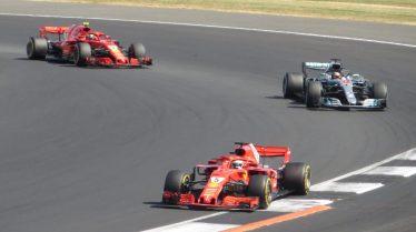 Vettel Raikkonen Hamilton F1 2018 British Grand Prix Formula 1