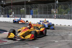 Ryan Hunter-Reay IndyCar DHL Honda ANdretti Autosport Toronto