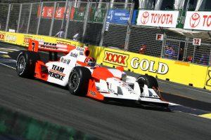 Helio Castroneves Team Penske Surfers Paradise IndyCar Australia