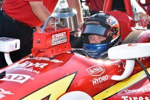 Felix Rosenqvist IndyCar Chip Ganassi Racing