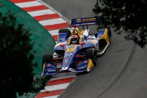 Alexander Rossi Laguna Seca WeatherTech Raceway Corkscrew