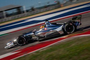 Santino Ferrucci Dale Coyne Racing Circuit of the Americas Spring Training IndyCar 2019