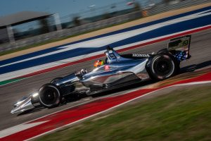 Santino Ferrucci Dale Coyne Racing Circuit of the Americas Spring Training IndyCar 2019