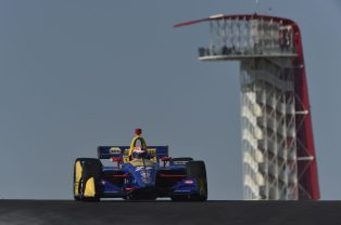 Alexander Rossi Circuit of the Americas IndyCar Classic Spring Training