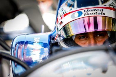 Graham Rahal IndyCar Spring Training COTA Test Rahal Letterman Lanigan Racing NTT INdyCar